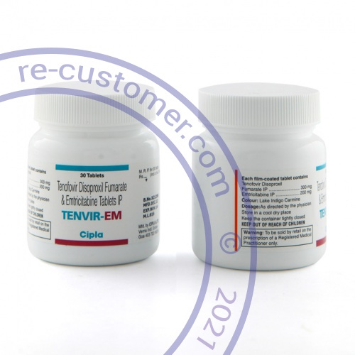 Tenofovir-emtricitabine photo